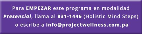 Programas Presenciales